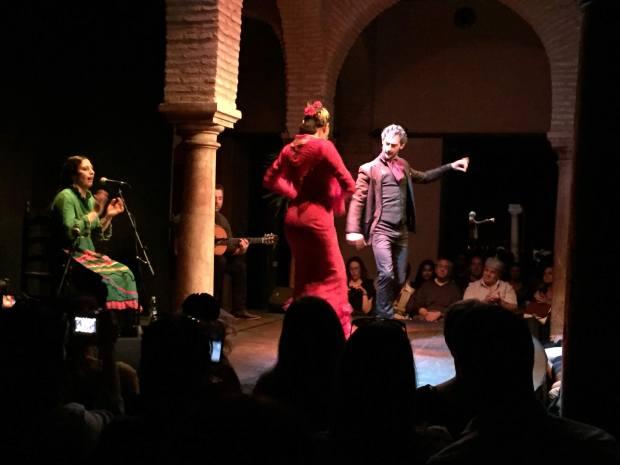 Flamenco show in Seville, Spain